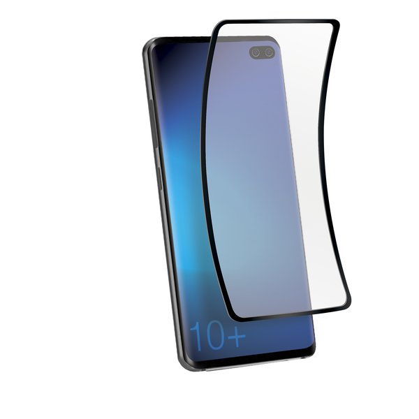 SBS - Protective Glass Flexi for Samsung Galaxy S10 +, Black