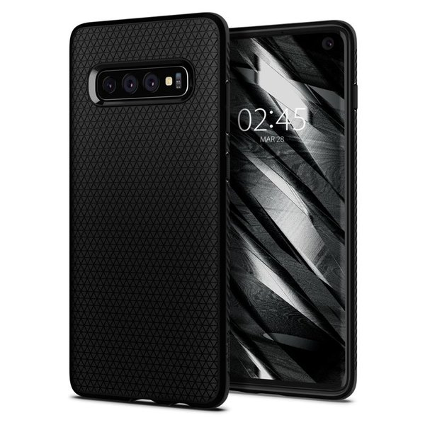 Spigen - Liquid Air case for Samsung Galaxy S10, matt black