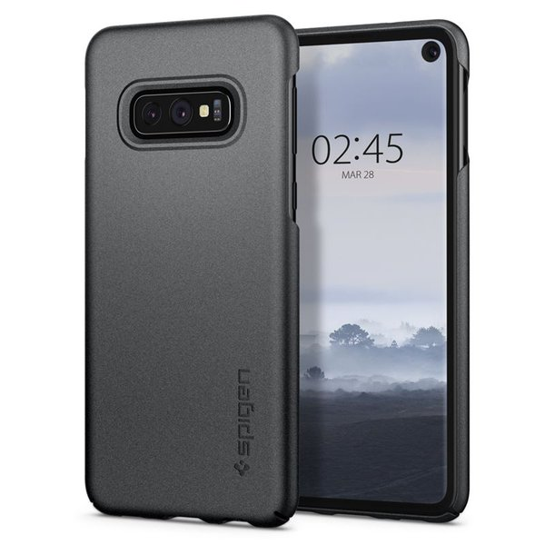 Spigen - Thin Fit Case for Samsung Galaxy S10e, gray