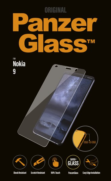 Panzerglass - Tempered glass for Nokia 9, clear
