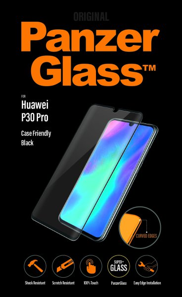 PanzerGlass - Tempered glass for Huawei P30 Pro, black