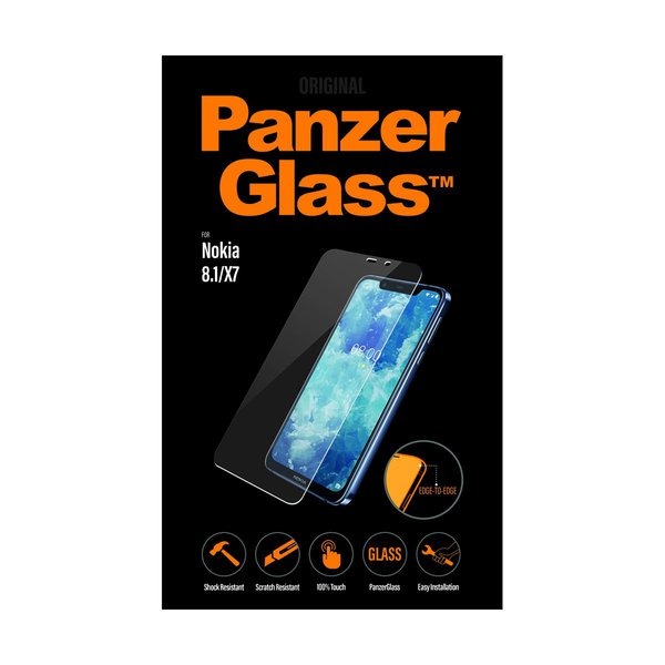 Panzerglass - Tempered glass for Nokia 8.1, clear