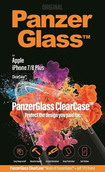 PanzerGlass - ClearCase for iPhone 7/8 +, transparent