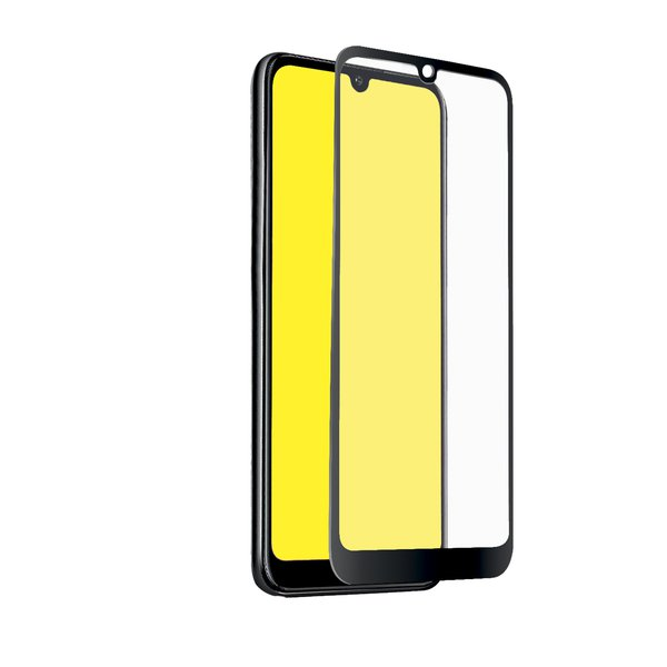 SBS - Tempered Glass Full Cover for Huawei Y6 2019 / Y6 Pro 2019, Black