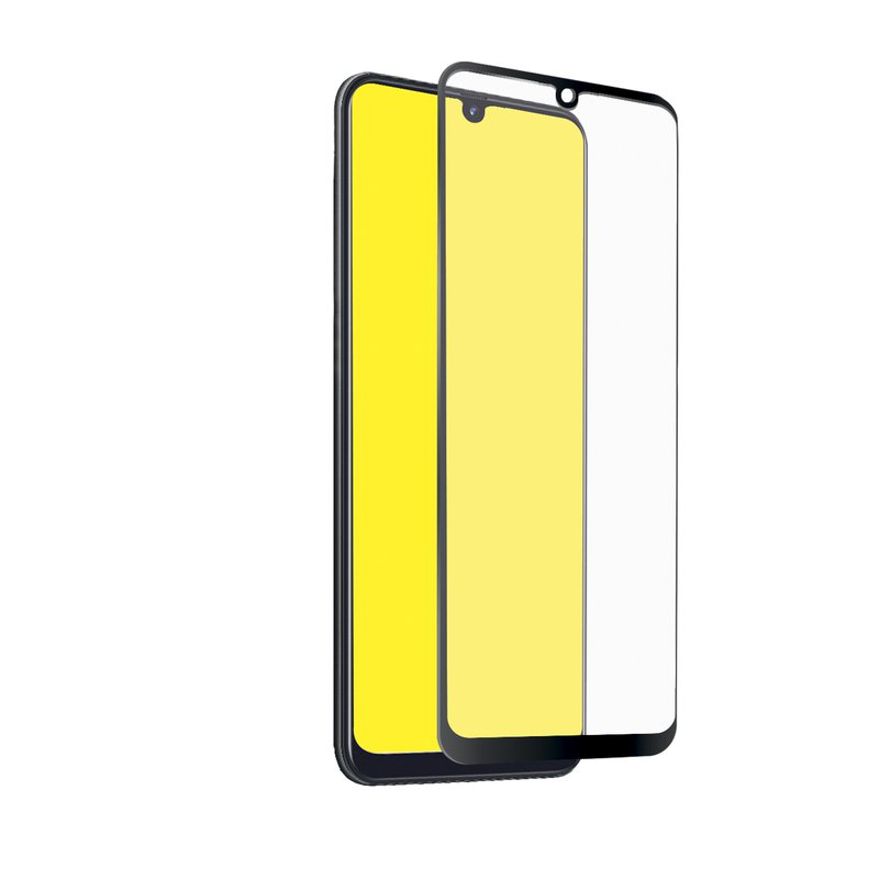 SBS - Tempered Glass Full Cover for Samsung Galaxy A40, Black