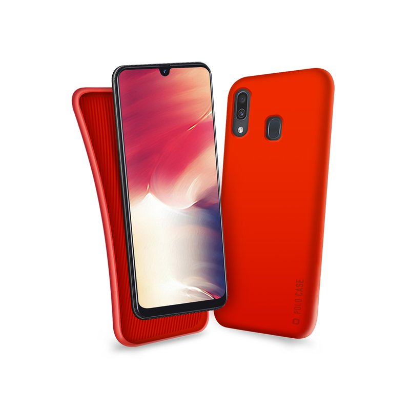 SBS - Polo Case for Samsung Galaxy A40, red