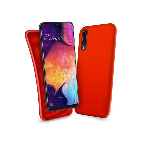 SBS - Polo Case for Samsung Galaxy A50, red