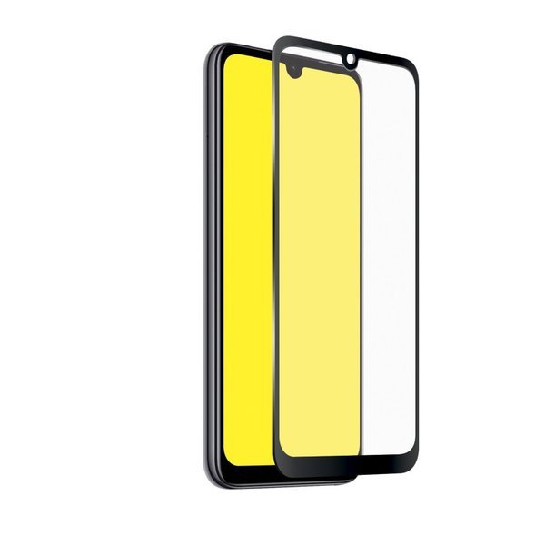 SBS - Tempered Glass Full Cover for Xiaomi Redmi Note 7, Black