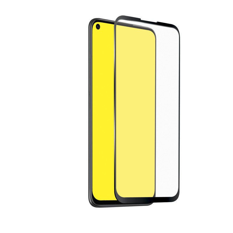 SBS - Tempered Glass Full Cover for Huawei P20 Lite 2019, Black