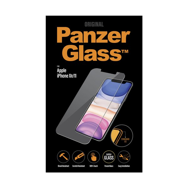 PanzerGlass - Tempered glass for iPhone 11 / XR, clear