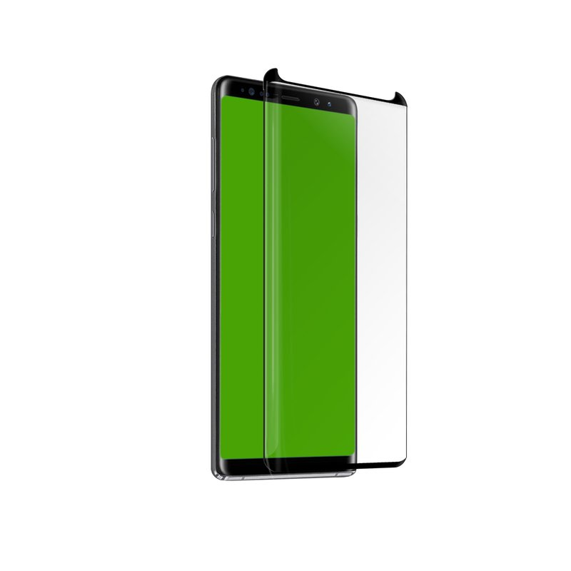SBS - 4D Full Glass, Case Friendly for Samsung Galaxy Note 10, Black