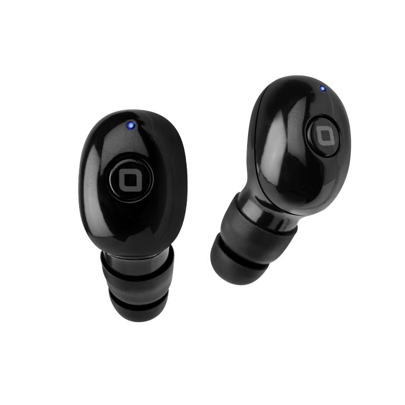 SBS - Twin BT930 Lite Bluetooth Headset with 350 mAh Charging Case, Bluetooth 5.0, Black