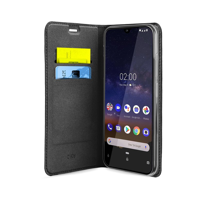 SBS - Book Wallet Lite Case for Nokia 2.2, black