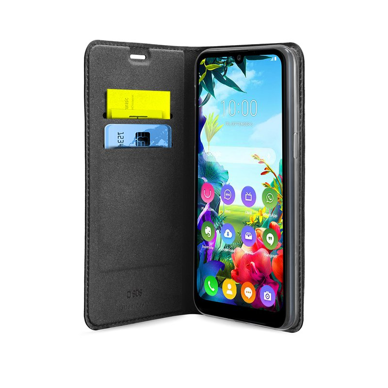 SBS - Book Wallet Lite Case for LG K40s, black