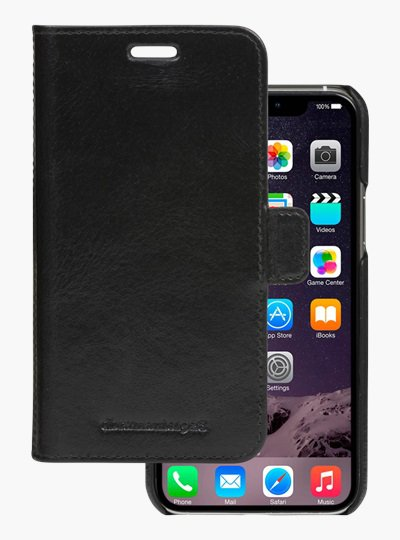 dbramante1928 - Leather case Lynge for iPhone 11 Pro Max, black
