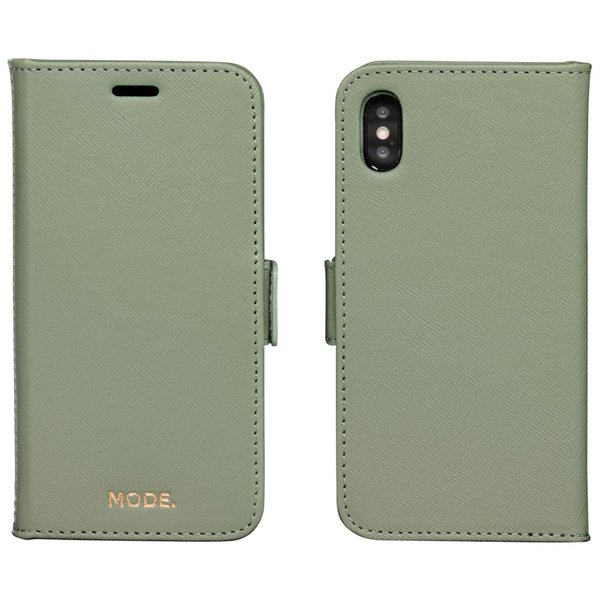 MODE - New York case for iPhone X / Xs, olive green
