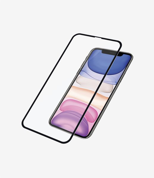 PanzerGlass - Tempered glass Case Friendly Apply Like A Pro for iPhone 11 / XR, black