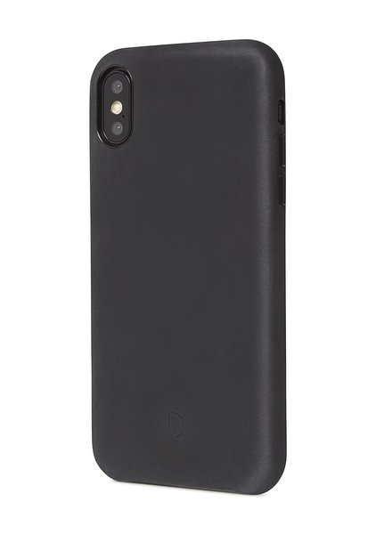 Decoded Leather Case for iPhone XS Max, black