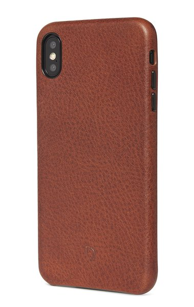 Decoded Leather Case for iPhone XS Max, brown