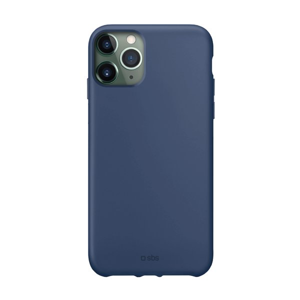 SBS - TPU case for iPhone 11 Pro Max, recycled, Eco packaging, blue