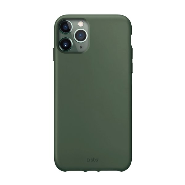 SBS - TPU case for iPhone 11 Pro Max, recycled, Eco packaging, green