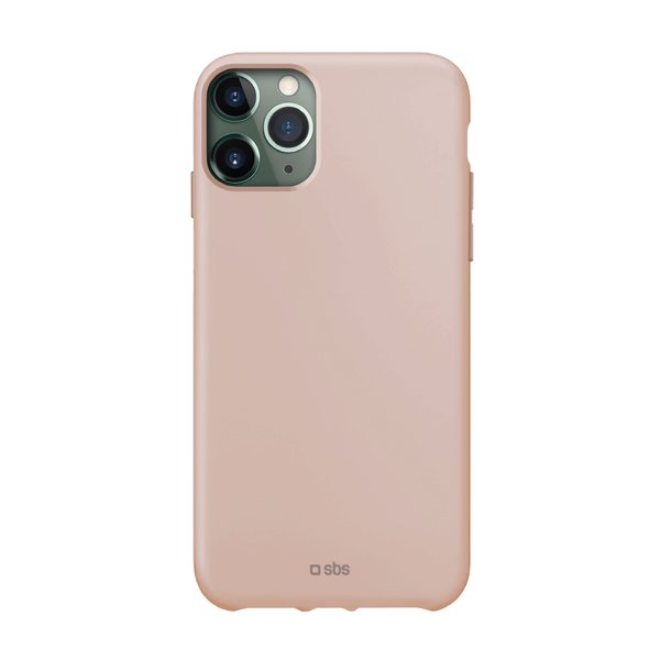 SBS - TPU case for iPhone 11 Pro Max, recycled, Eco packaging, pink