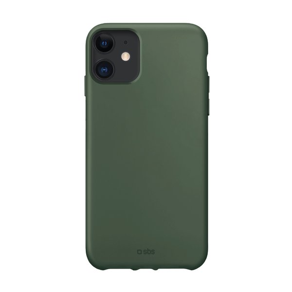 SBS - TPU case for iPhone 11, recycled, Eco packaging, green