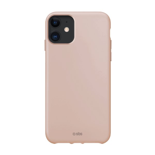 SBS - TPU case for iPhone 11, recycled, Eco packaging, pink