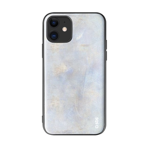 SBS - Reflective case for iPhone 11, silver