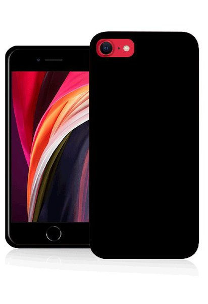 Fonex - TPU case for iPhone SE 2020/8/7, black