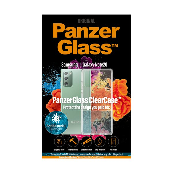 PanzerGlass - ClearCase Case for Samsung Galaxy Note20, transparent