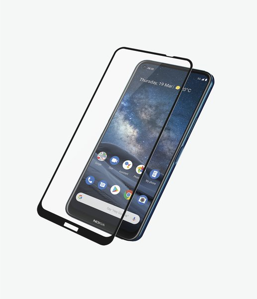 PanzerGlass - Case Friendly Tempered Glass for Nokia 8.3, Black
