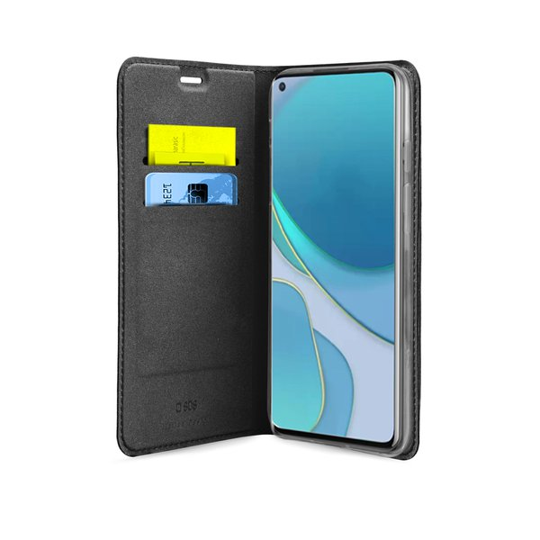 SBS - Book Wallet Lite Case for OnePlus 8T, black