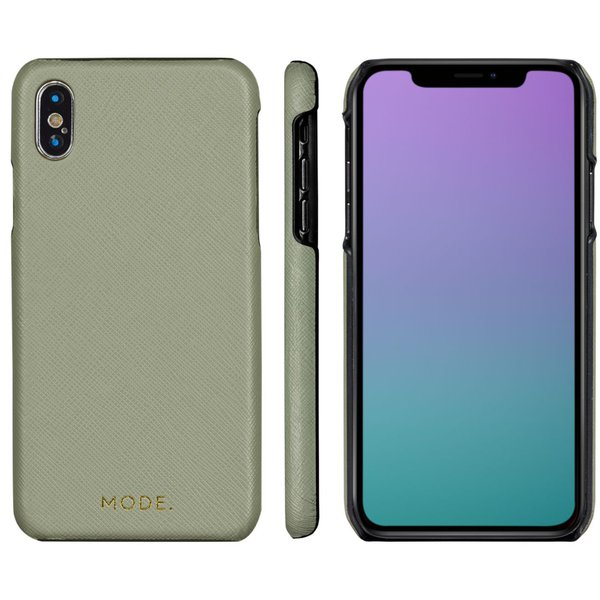 MODE - London case for iPhone X / XS, olive green