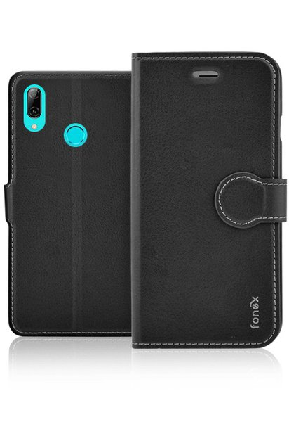 Fonex - Book Identity Case for Huawei P Smart 2019, black