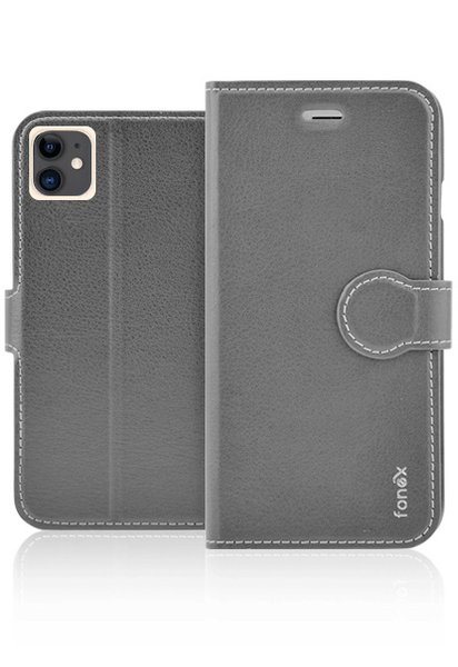 Fonex - Book Identity Case for iPhone 11, black