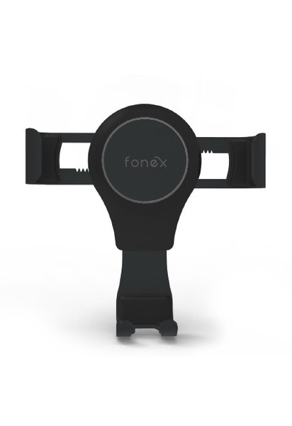 Fonex - Universal car holder in the grille, black