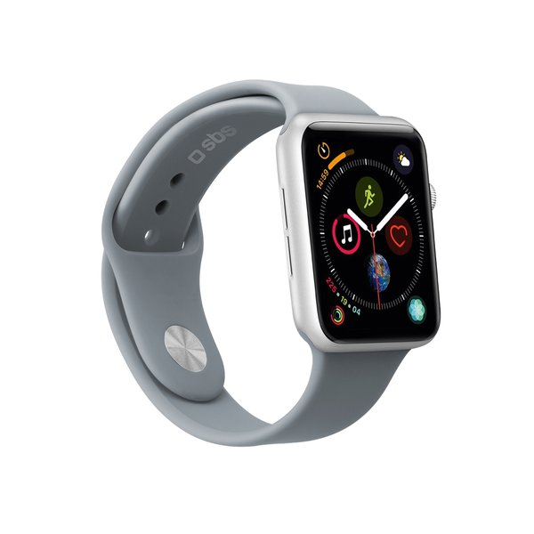 SBS - Bracelet for Apple Watch 44 mm, size S / M, gray