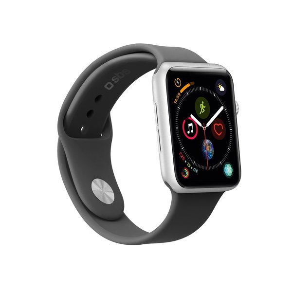 SBS - Bracelet for Apple Watch 44 mm, size S / M, black