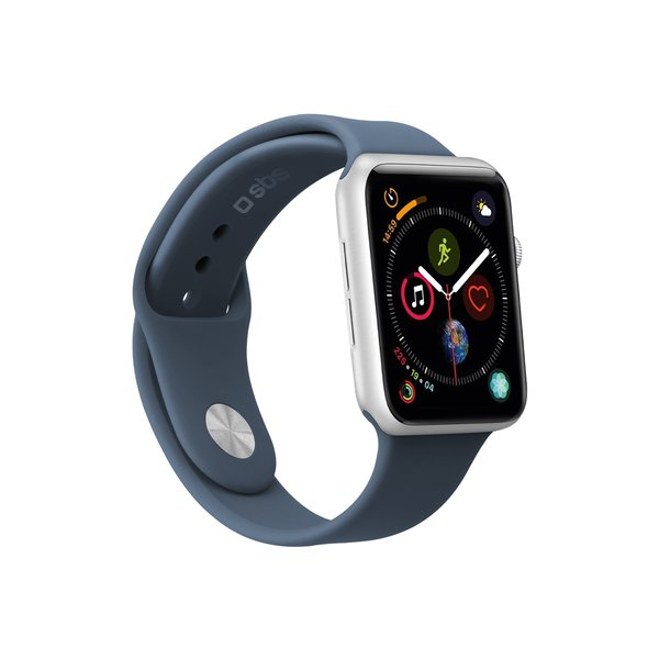SBS - Bracelet for Apple Watch 44 mm, size M / L, blue