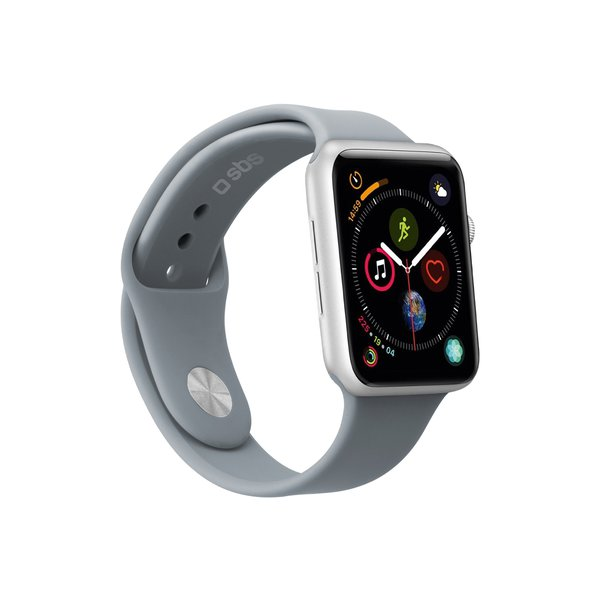 SBS - Bracelet for Apple Watch 44 mm, size M / L, gray