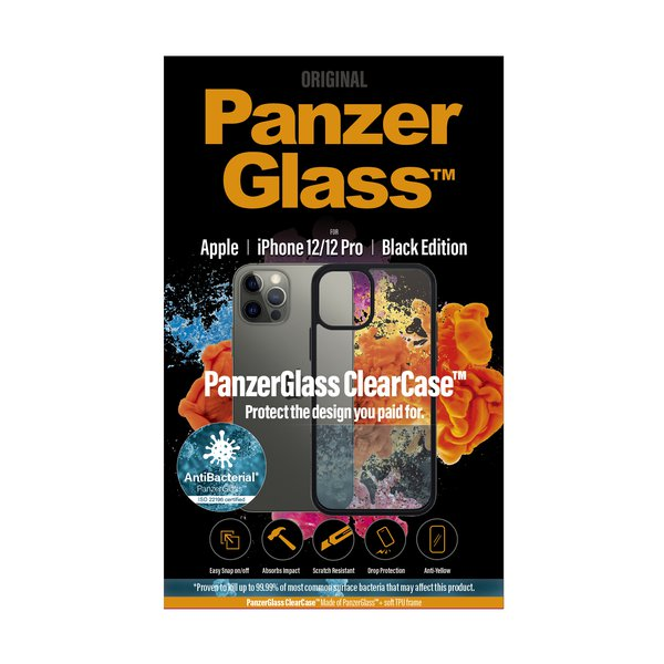 PanzerGlass - ClearCase AB case for iPhone 12 mini, black