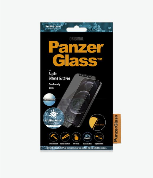 PanzerGlass - Tempered glass Case Friendly AntiGlare for iPhone 12 mini, black