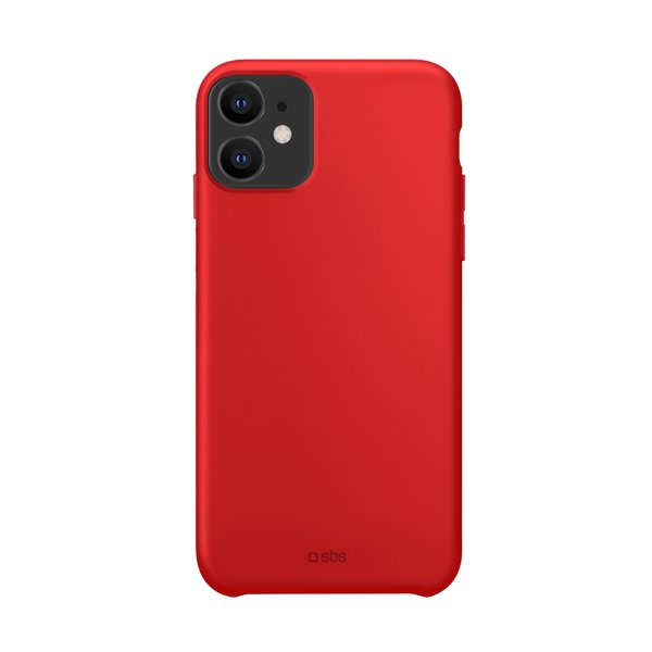 SBS - TPU case for iPhone 12/12 Pro, recycled, Eco packaging, red