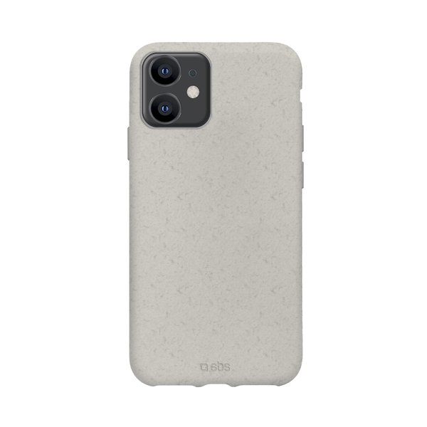 SBS - Oceano case for iPhone 12/12 Pro, 100% compostable, white