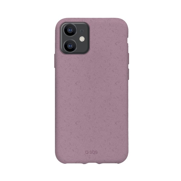 SBS - Oceano case for iPhone 12/12 Pro, 100% compostable, pink