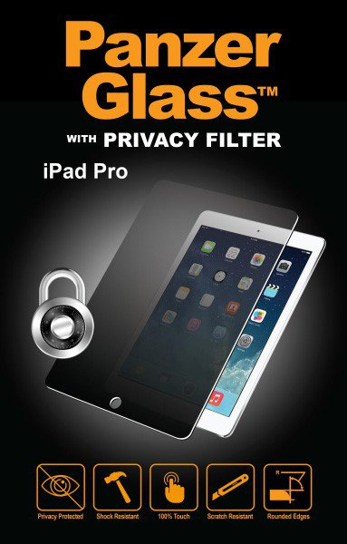 "PanzerGlass - Tempered glass Privacy Portrait for Apple iPad Pro 12.9 "", clear"